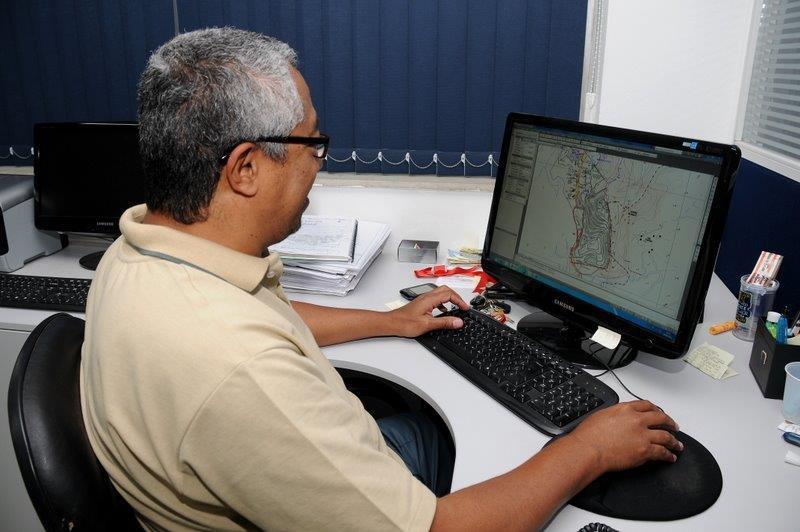 Empresa de monitoramento de barragens