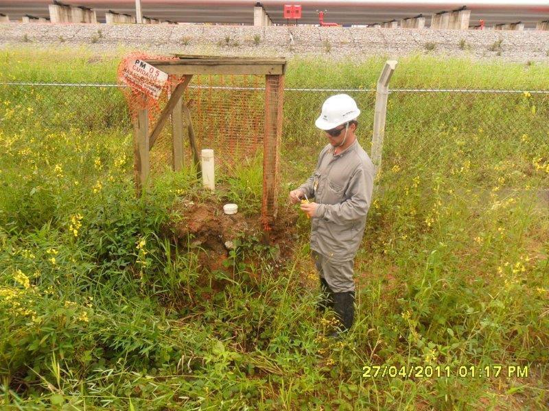 Monitoramento de águas subterrâneas